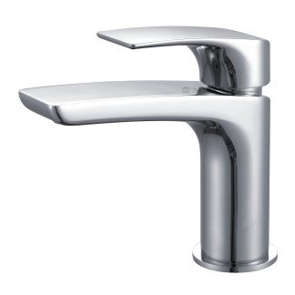 York Basin Mixer Chrome